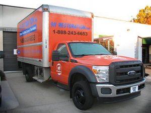 Water-Fire-Mold-Damage-Restoration-Van