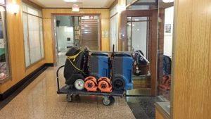Water-Damage-Equipment-at-Job-Site